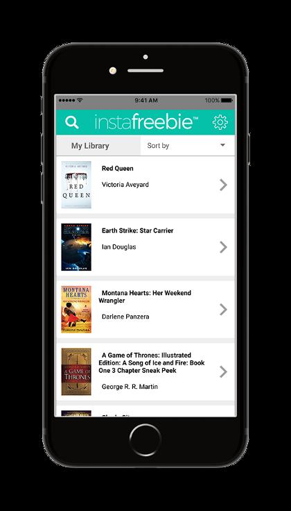 iphone app image - app menu